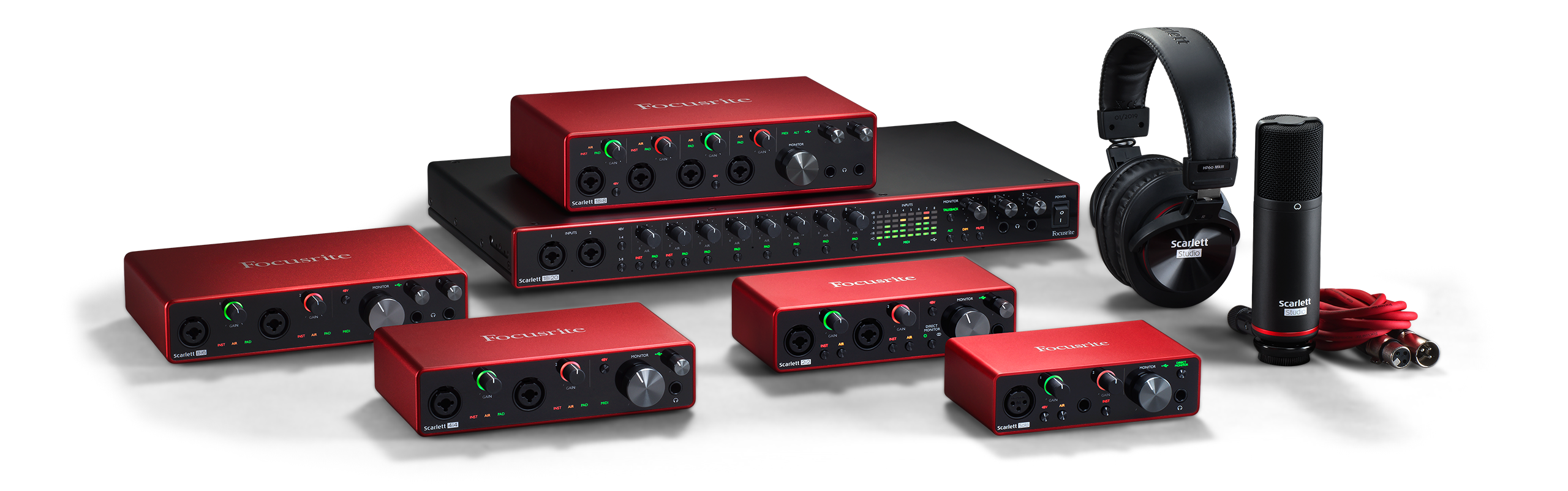 Focusrite Scarlett 3rd Generation Series