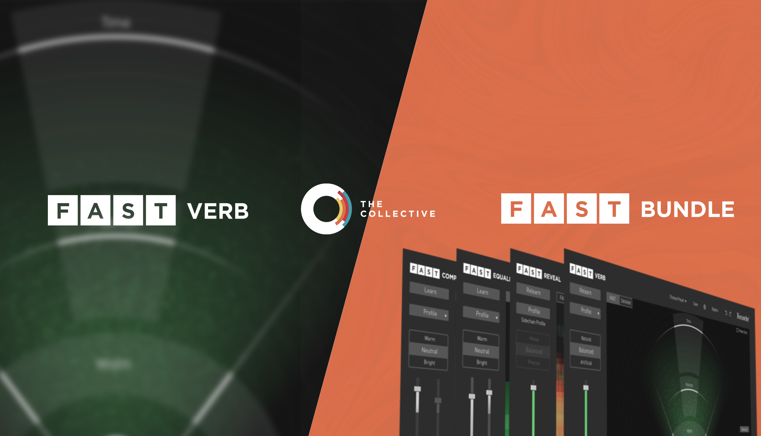The Collective Focusrite - FAST Verb and FAST Bundle