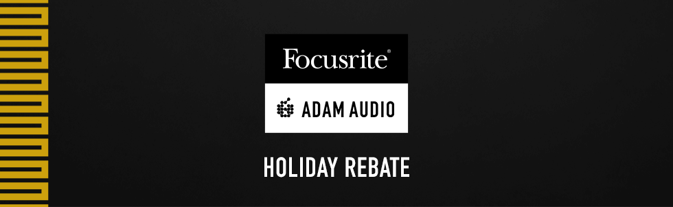 ADAM Audio rebate