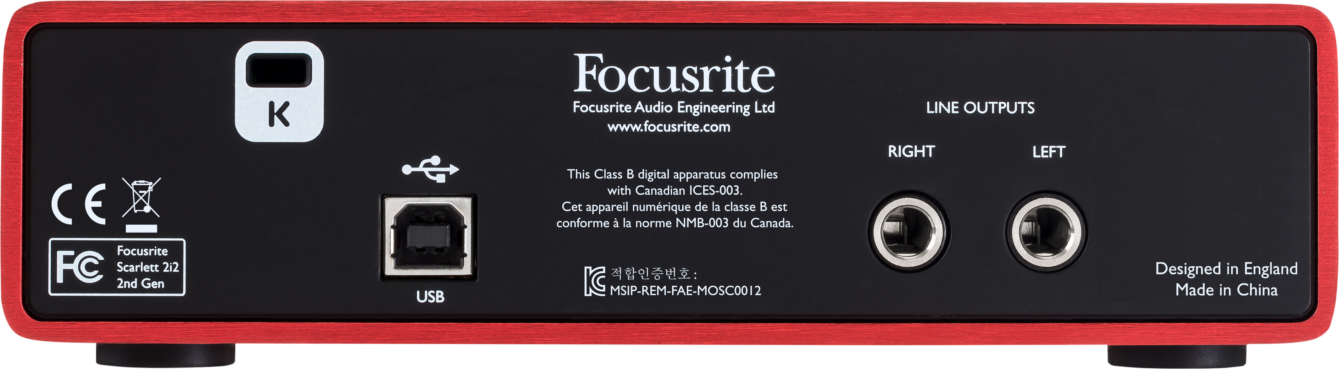Scarlett 2i2 Focusrite Is There A Circuit Simulation Software With Actual Audio Input Output Rear