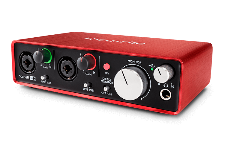 Scarlett 2i2 Studio recording made easy