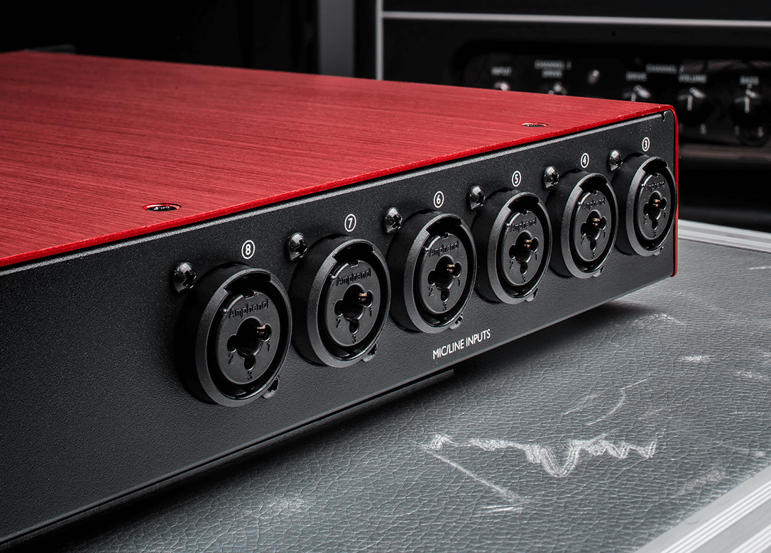 Scarlett OctoPre Eight amps