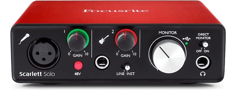usb interfaces focusrite