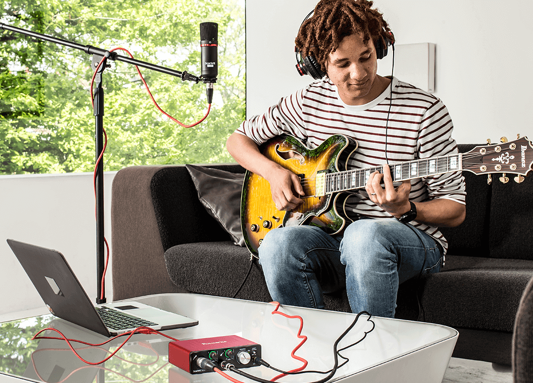 Scarlett Solo Studio Make Pro Recordings at Home