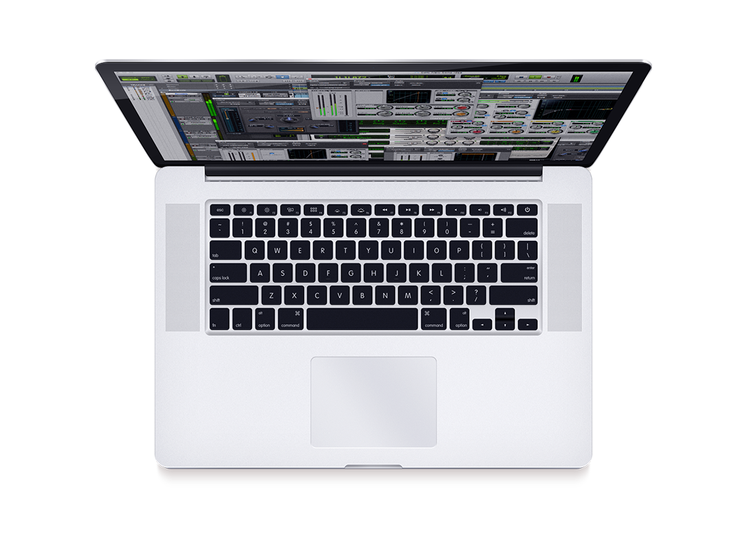 Macbook with PT | First on screen