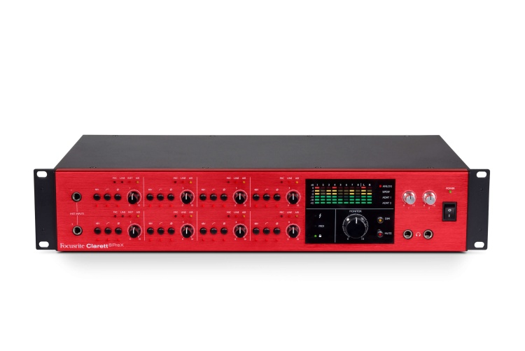 Clarett 8PReX front elevated