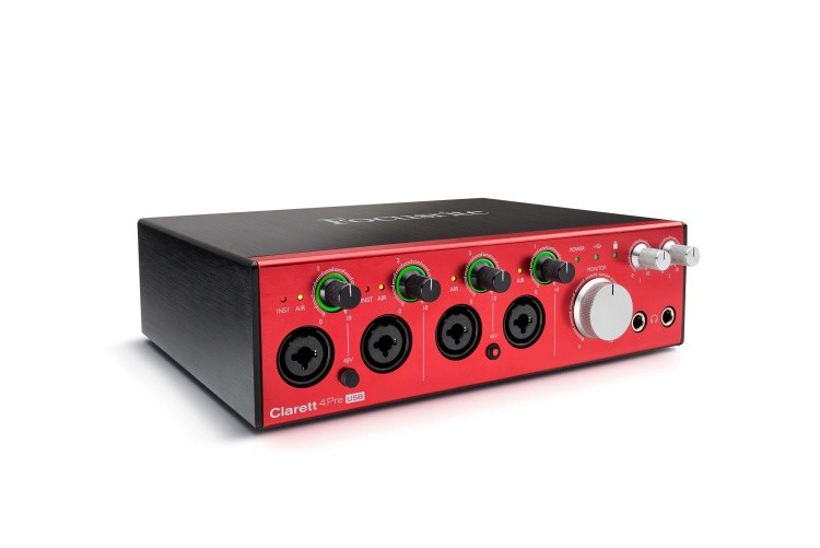 Clarett 4Pre USB right angle