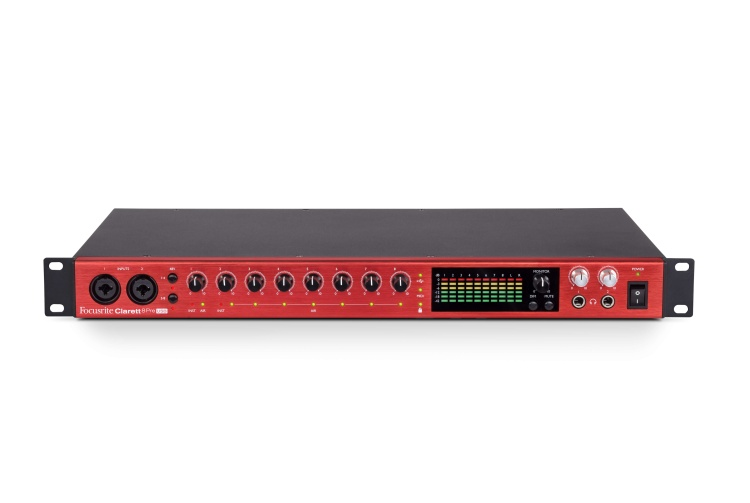 Clarett 8Pre USB front elevated