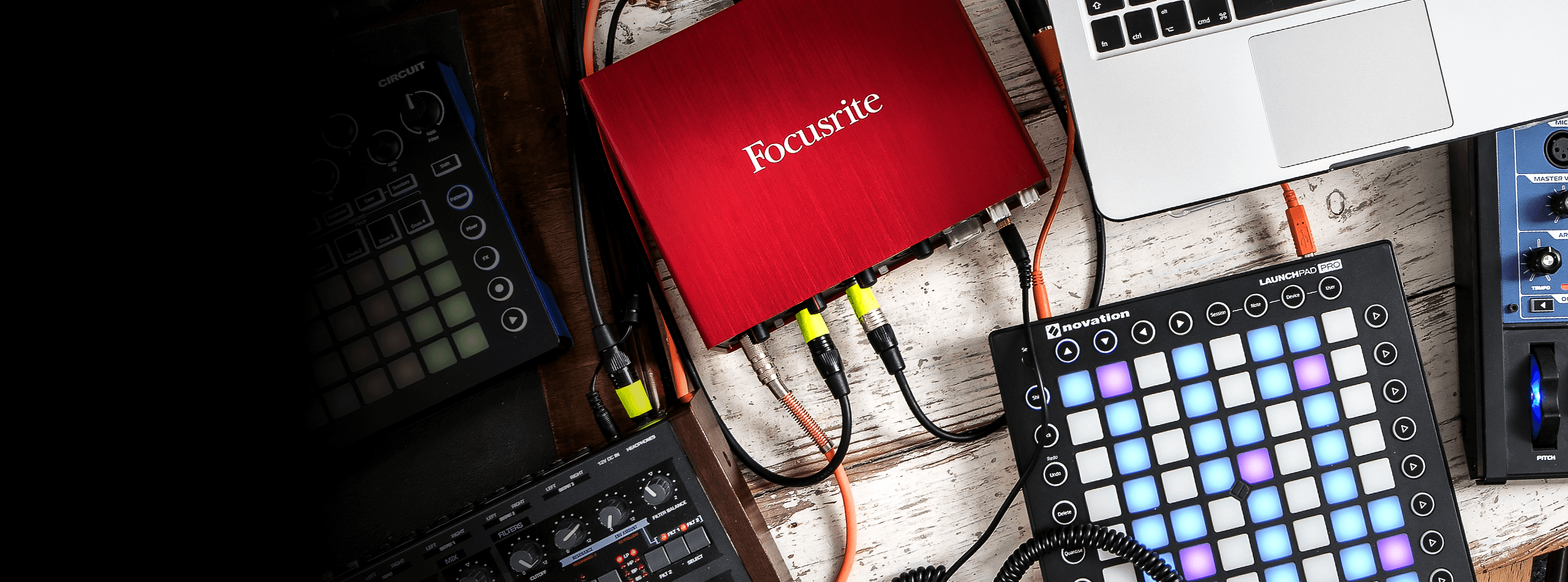 Focusrite and Novation products
